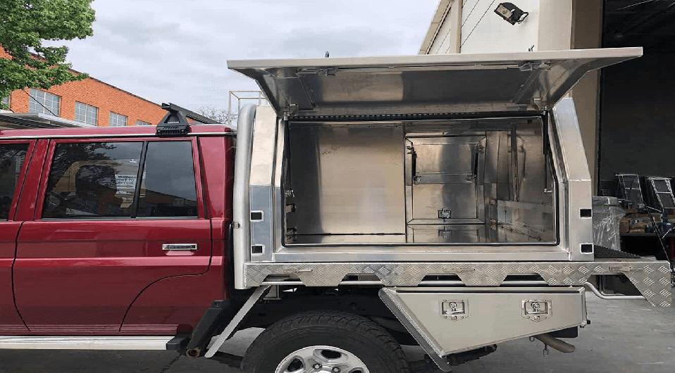 Aluminum Ute Canopies