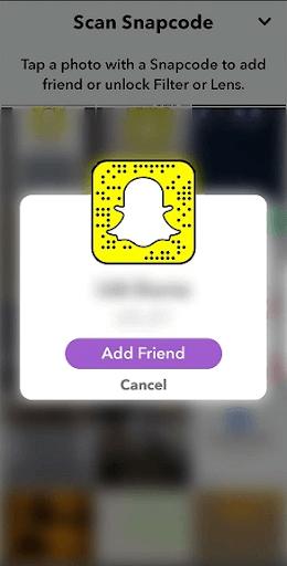add friend snapchat